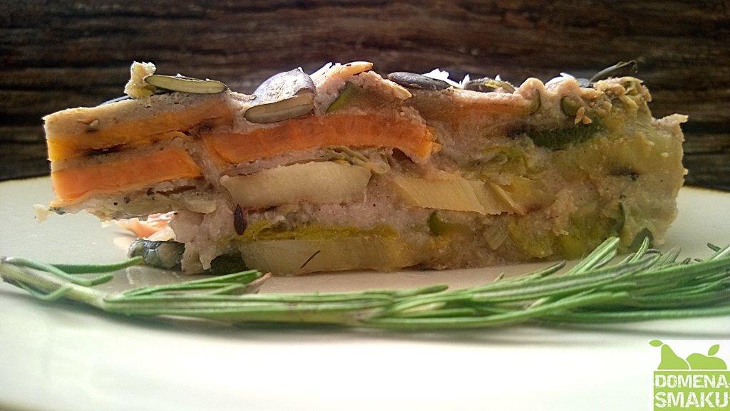 Musaka z grillowanych warzyw