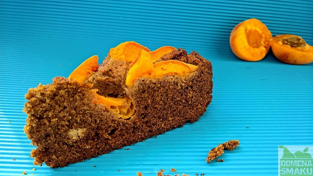 ciasto z morelami bezglutenowe 3
