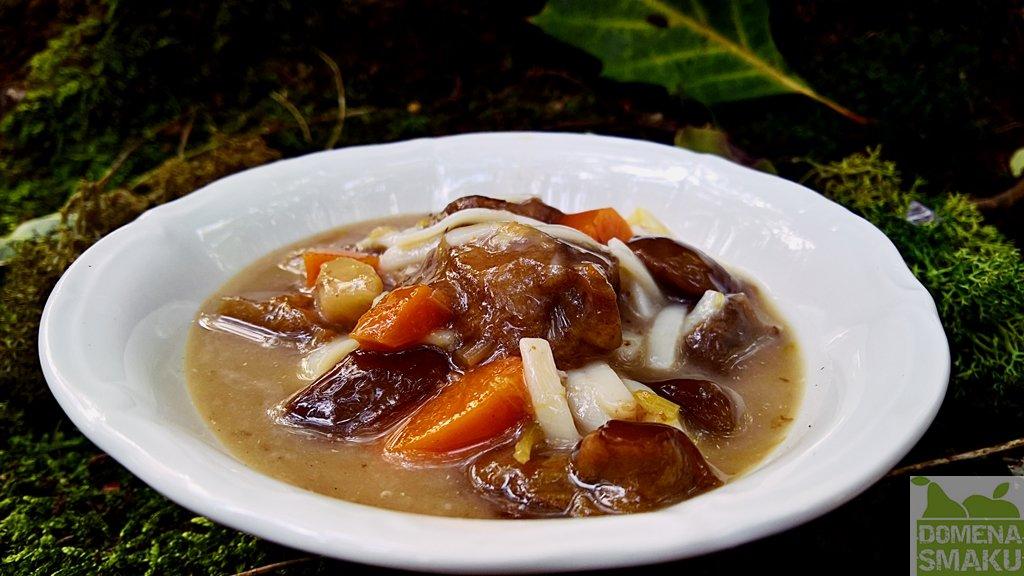 zupa grzybowa wegetariańska