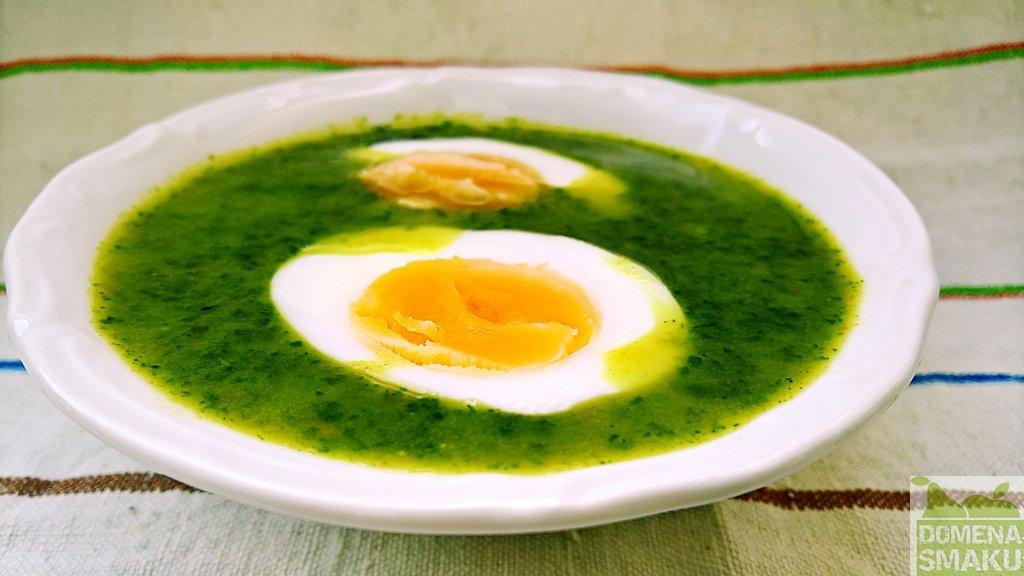 zupa z pokrzywy mniszka