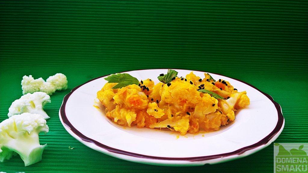 curry dyniowo kalafiorowe 1