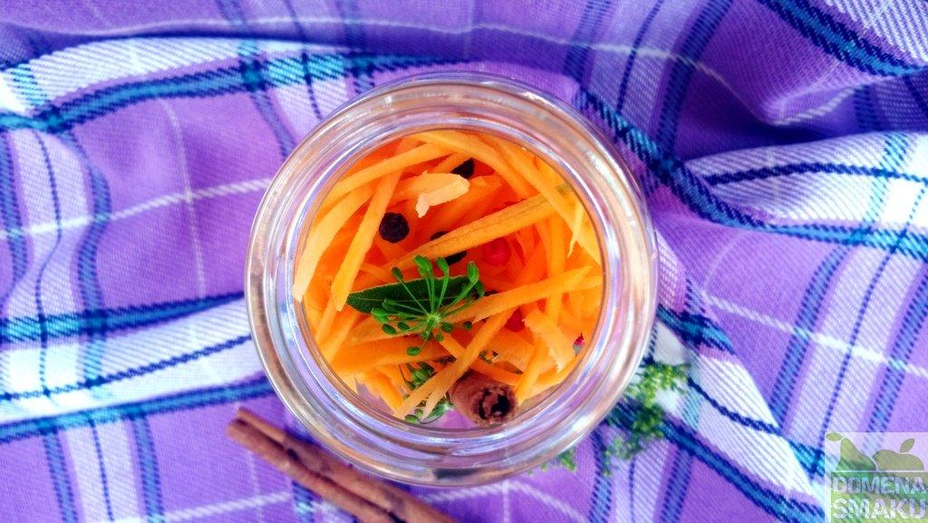 kiszona marchewka cynamon 1
